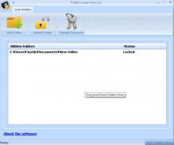 Folder Locker Screenshot