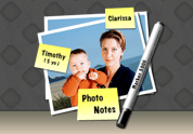 [Mac OS X] Attach labels and notes to pictures with PhotoNotes