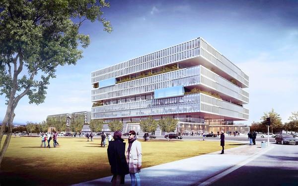 Samsung to build unique building