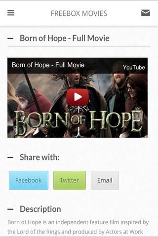 Freebox Movie Page
