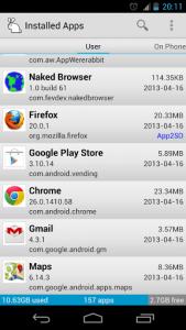 AppWererabbit Applications List