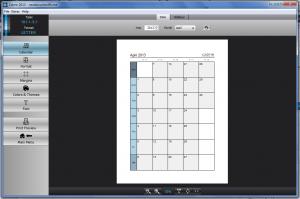 Calme planner template settings