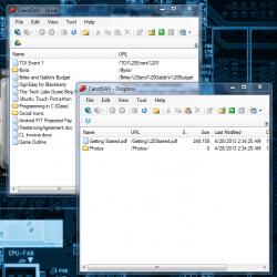 CarotDAV multiple instances