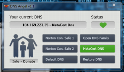 DNS Angel MetaCert server