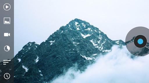 Droid Timelapse mountains