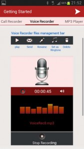 InCall Recorder and Voice personal recorder