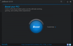 JetBoost Main Interface