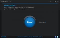 JetBoost Main Interface