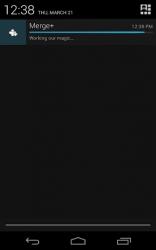 Merge+ notification icon