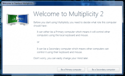 Multiplicity 2 Setup