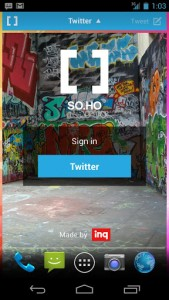 SOHO Twitter sign in