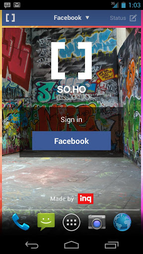 SOHO sign in
