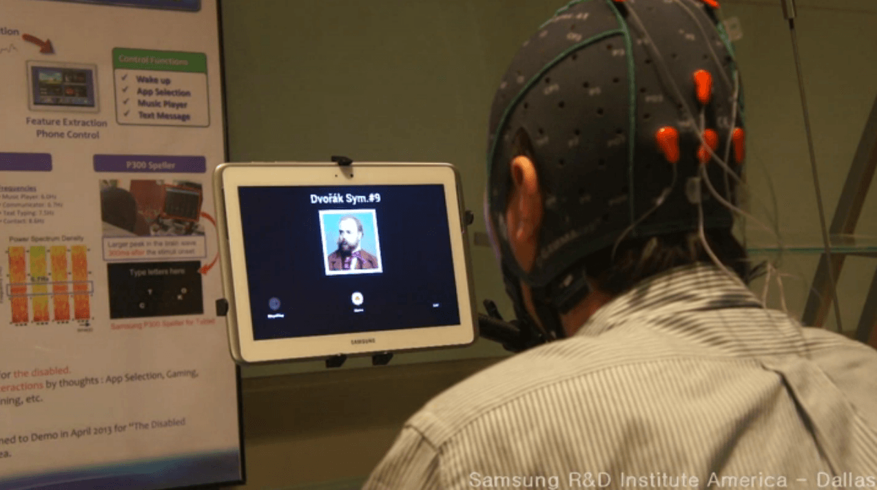 Samsung brain controlled tablet