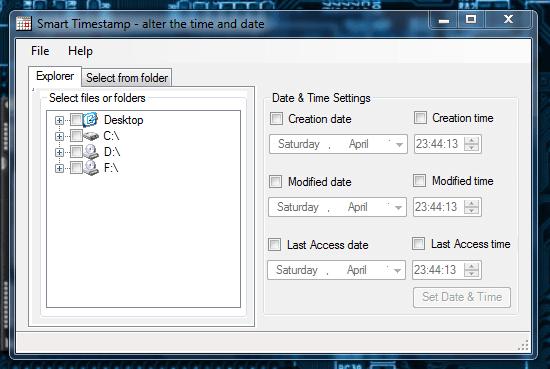 Smart Timestamp Window