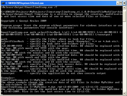 Smart Timestamp from Command Prompt