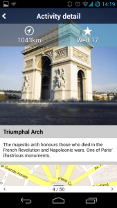 Tripomatic attraction report