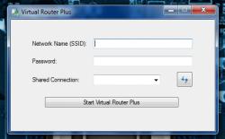 Virtual Router Plus main UI
