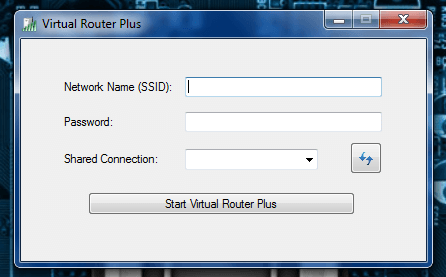 Virtual Router Plus main UI