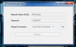 Virtual Router Plus working