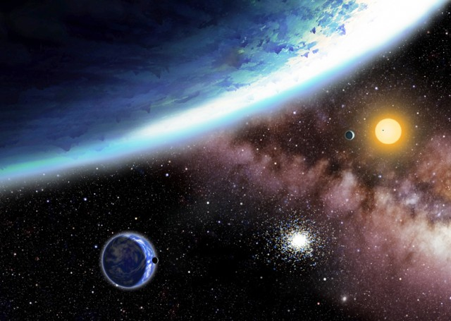 Two mysterious Earth Planets
