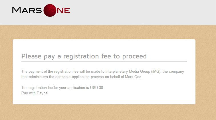 mars-one-application