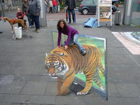 tiger_3d_art