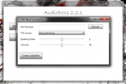 AudioDocs Conversion