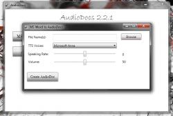 AudioDocs Conversion