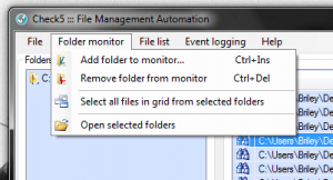 Check5 add folder to monitor