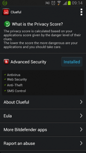 Clueful application settings