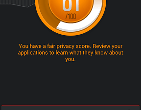Clueful device privacy score fair
