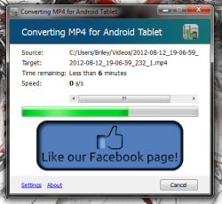 Converting Video in Click2Mobile