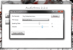 Hey Dottechies AudioDocs