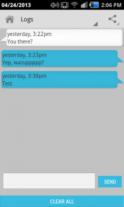 Hider+ Compose Text Message