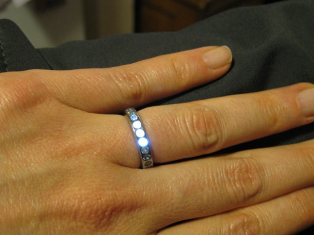 Illuminated Induction ring from Ben Kokes
