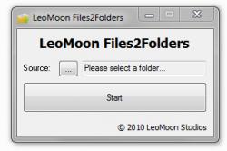 LeoMoon Files2Folders UI