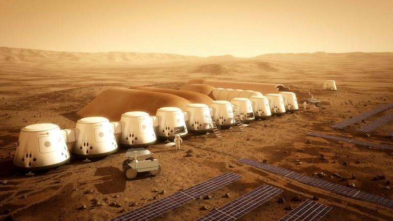 Mars One housing