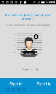 Mobile Easy Finder face snapshot