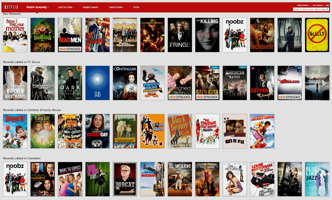 Movies And TV Shows Netflix
