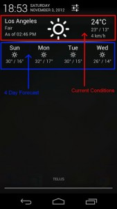 Notification Weather description 2
