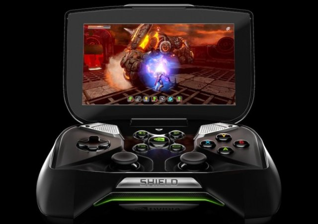 Nvidia Project Shield front