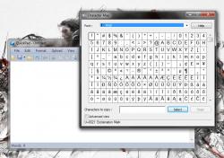 QuickPad insert character
