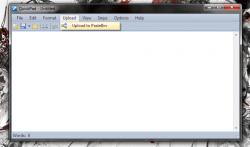 QuickPad upload to pastebin