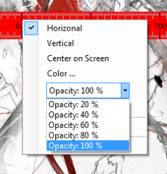 ScreenRuler opacity