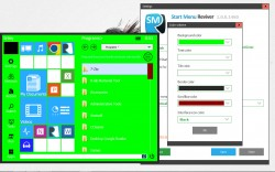Start Menu Reviver Change color scheme