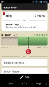 Toshl Budget Tracker