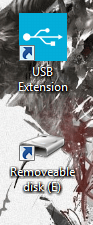 USB Extension shortcut