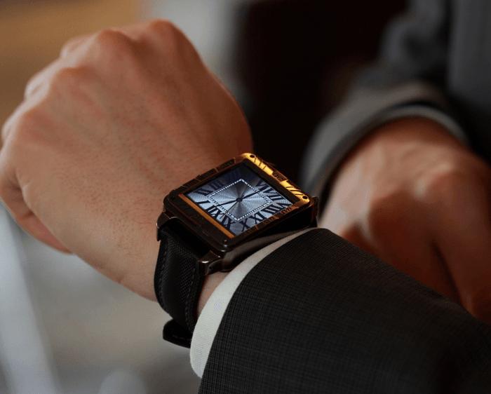 Vachen Wristwatch in use