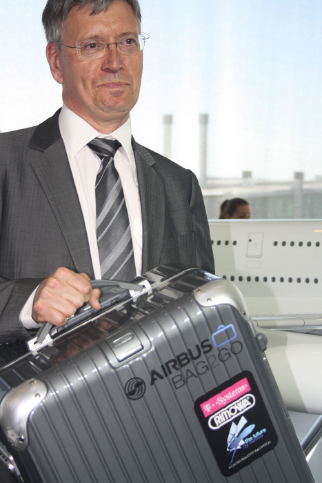 Airbus Bag2Go from T-Mobile and Rimowa