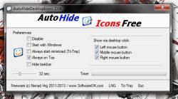 AutoHideDesktopIcons UI